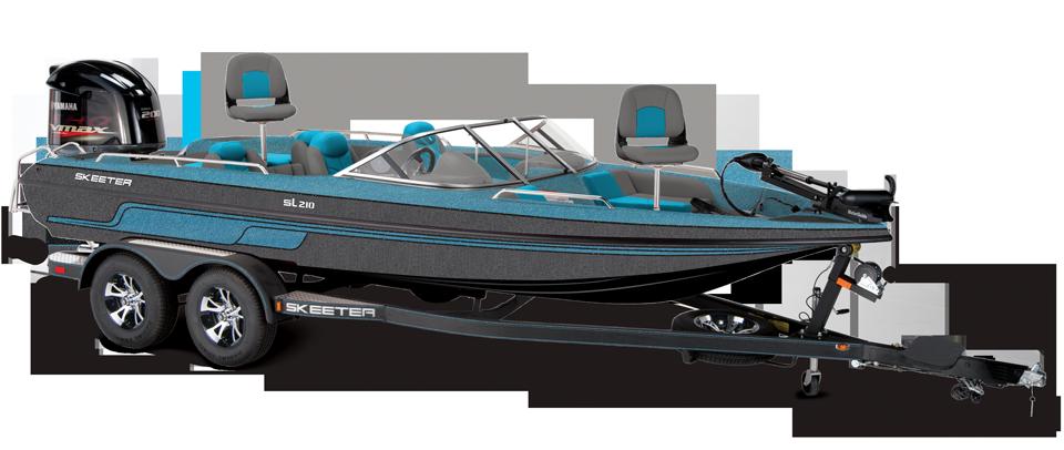 Best Fish And Ski Boats >> 2019 Skeeter Sl210 Fish Ski Boat For Sale