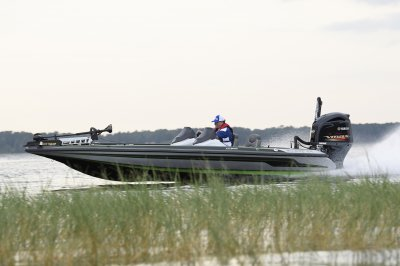 the best bass boat goes fast