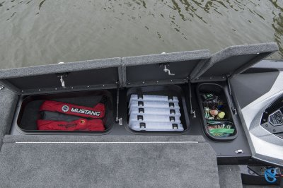 starboard side tackle storage
