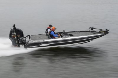 tournament ready boat speeds across water