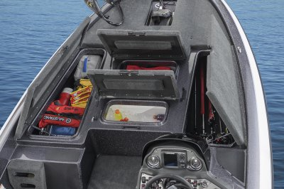 lots of storage in a value compact boat
