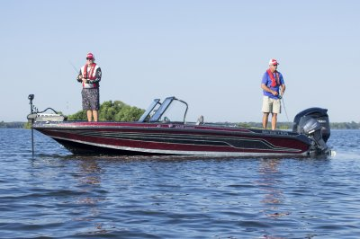 the wx2060 is a great fishing boat for the great lakes