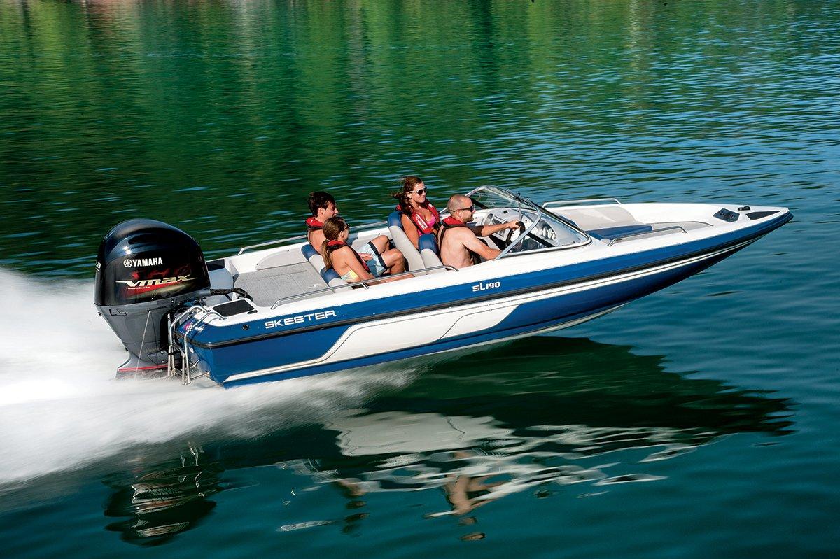 2018 skeeter sl190 fish ski boat for sale for Fish and ski