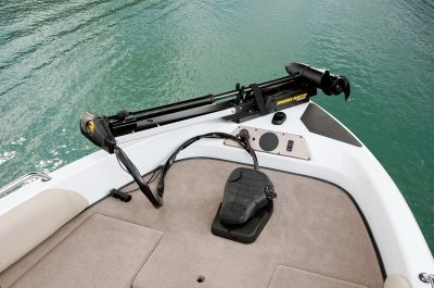 minn kota trolling motor on bow