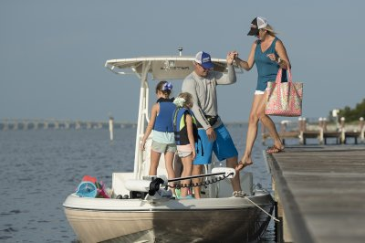 great family saltwater boat