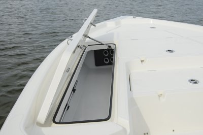 port side rod locker water tight