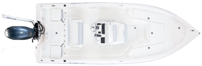 large front deck on 21 foot saltwater fishing boat