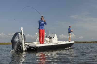 the sx 210 is an amazing fishing platform