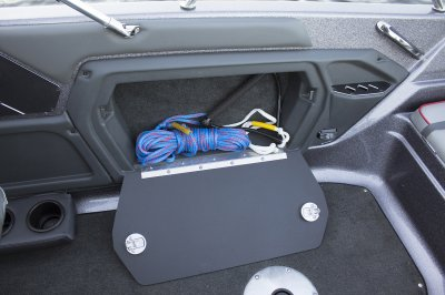 starboard side gunnel storage box