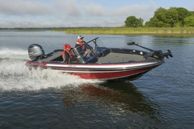 this deepv boat handles rough water with ease