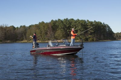 fishing for bass in the solera 205