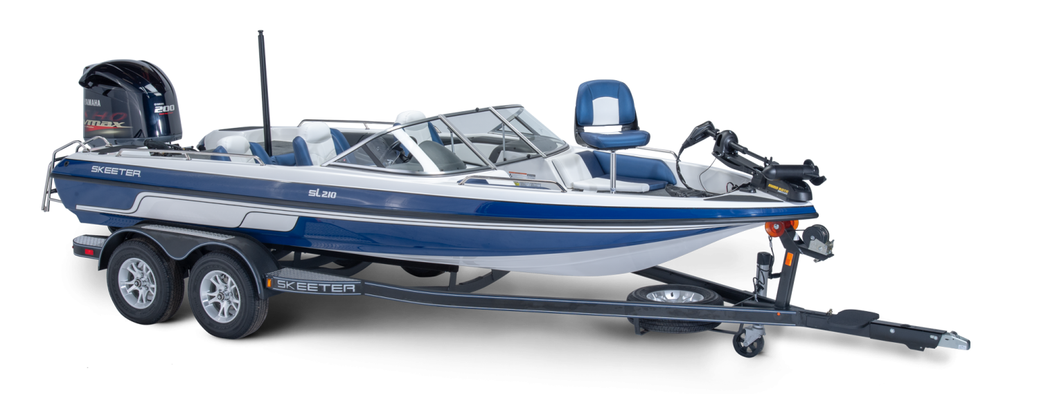 2019 Skeeter SL210 Fish & Ski Boat For Sale profile image.