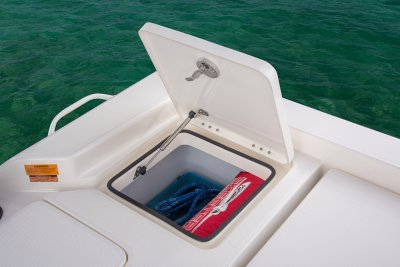 rear deck storage on sx240 bay boat