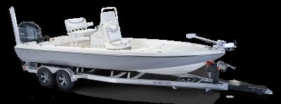 Skeeter SX240 bay boat on skeeterbuilt trailer