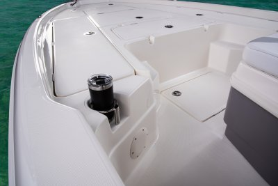 front deck cup holder on skeeter sx240 bay boat