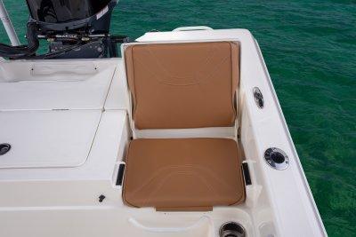 rear jump seat on skeeter sx230 bay boat
