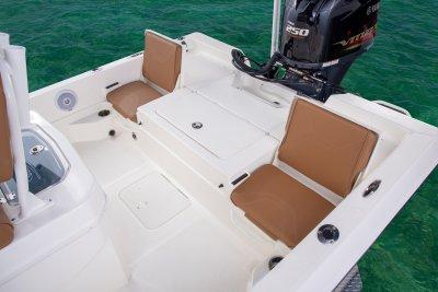 rear jump seats on skeeter sx230 bay boat