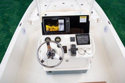 Sx2250 bay boat dash of center console
