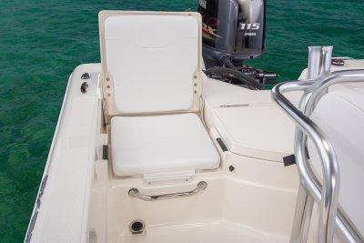 rear jumpseat on skeeter sx200 bay boat