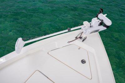 bow trolling motor on sx200 bay boat