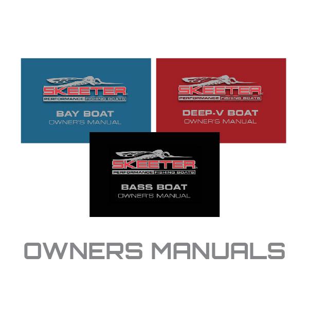 Skeeter Owners Manuals