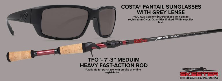 Owner's Tournament Costa Glasses and Rod