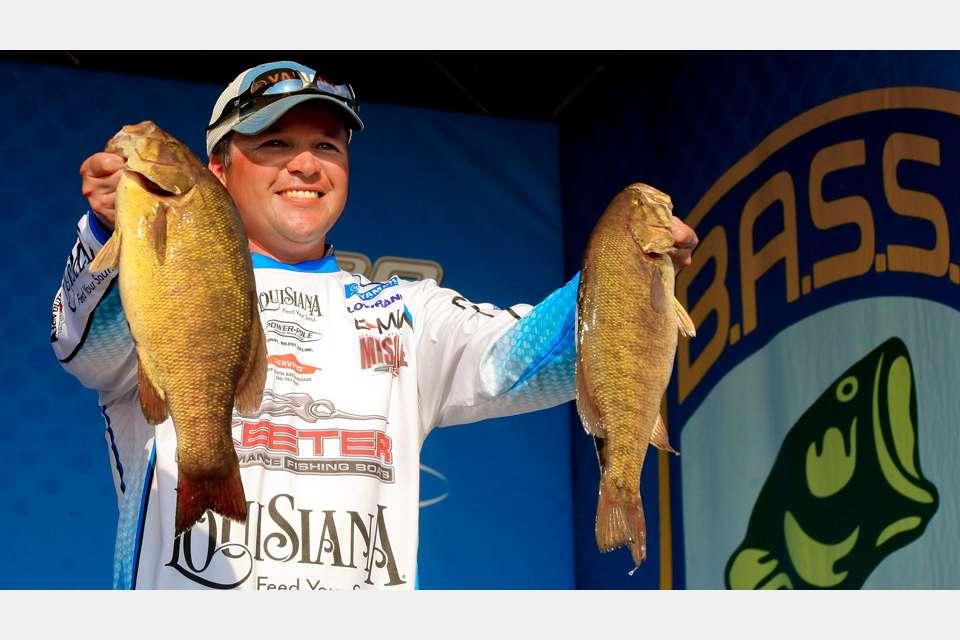 Derek Hundell - pro bass fisherman