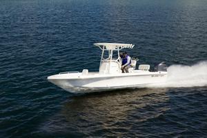 Skeeter SX 2550 on the water