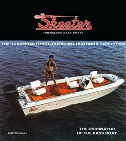 2010 Skeeter Boats brochure pamphlet literature catalog